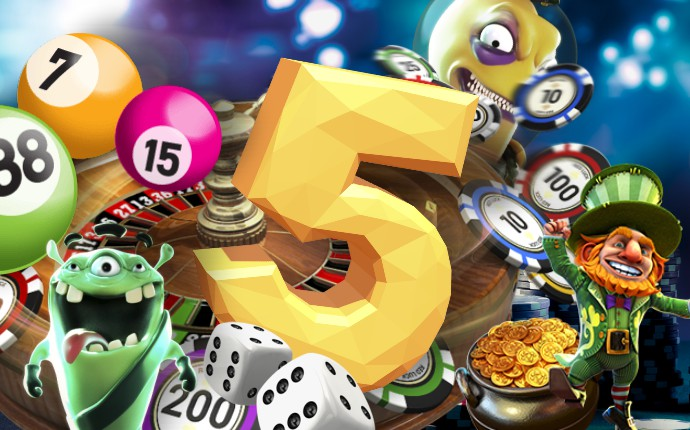 5 things for a great casino