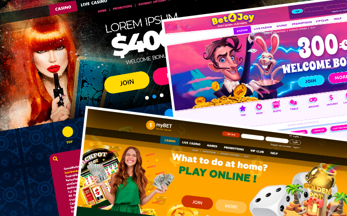 new casino websites from scratch from 1Click Games
